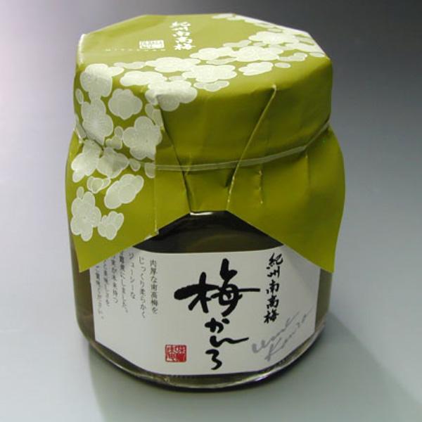 紀州産青梅甘露煮「梅かんろ」 140g瓶